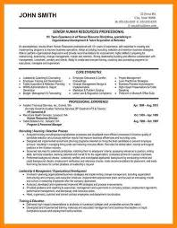 Human Resource Resume Sample Hr Resumes Samples Resume For A Generalist In Human Resources