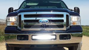 Led Light Bar For Dirt Bike by Amazon Com 4x4 Fabworks 2005 2007 Ford F250 F350 20