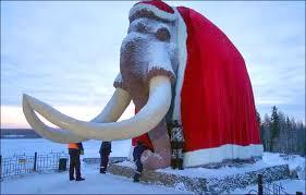 largest santa mammoth