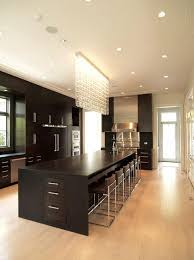 kitchen awesome classic hi tech kitchen modern style elegant kitchen elegant kitchen idea island fascinating appliances light wooden flooring charming black cabinet chandelier