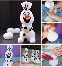Diy Sock Snowman Disney Frozen Olaf Sock Snowman Diy Find Fun Art Projects To