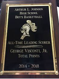 george visconti becomes al johnson u0027s all time leading scorer as