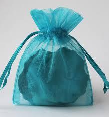 organza favor bags 100 teal organza bags sheer favor bags organza jewelry bags