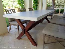 concrete dining room table coulter designs tables