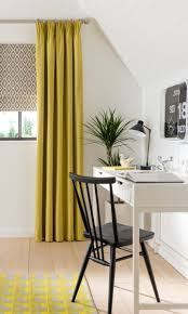Yellow Plaid Kitchen Curtains by Curtains Delicate Prominent Green Yellow Orange Curtains