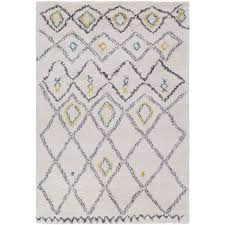 Light Gray Area Rug Bedroom Mistana Korra Whitegray Area Rug Reviews Wayfair White And
