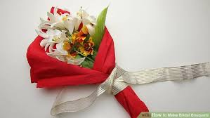 how to make bridal bouquets how to make bridal bouquets with pictures wikihow