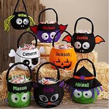 personalized trick or treat bags personal creations personalized trick or treating bags