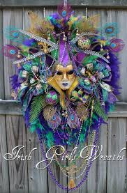 mardi gras jesters girl s wreaths where the difference is in the details