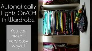 closet lighting automatically on off very useful for all types