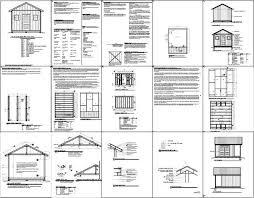 free building plans free building plans for sheds 12x16 home deco plans