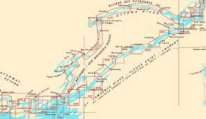 st seaway map pat s boating in canada charts for st river rideau