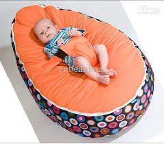 2017 baby beanbags sofa chairs round seat sleeping bed portable