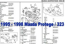 1998 mazda protege wiring diagram wiring diagrams