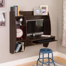 Computer Wall Desk Desks You U0027ll Love Wayfair