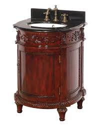 cherry finish antique bathroom vanity dreamline dlvbj 015ac solid
