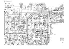 electric tv circuit diagram electronics repair made easy aiwa a149