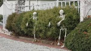 Garden Halloween Decorations 5 Outdoor Halloween Decorations Ideas Youtube