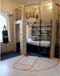 sophisticated cool bedroom designs for teenagers with sporty