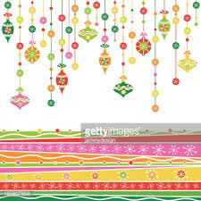 whimsical retro ornaments vector getty images