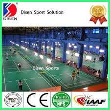 disen product synthetic badminton court flooring for sport