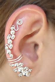 earring cuffs best 25 cuff earrings ideas on ear rings ear cuffs