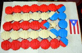 Flag Cakes Puerto Rican Flag Cupcakes U2013 Jamie Cakes