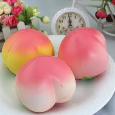 Easter Rising Decorations by High Quality Kawaii Squishy Simulation Peach Slow Rising Squishy