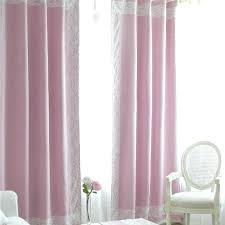 Pale Pink Curtains Decor Light Pink Blackout Curtains Teawing Co