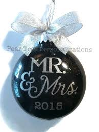 personalized christmas ornaments wedding personalized christmas ornaments for wedding favors we