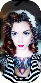 marilyn monroe vintage wedding hair with birdcage veil by cherry