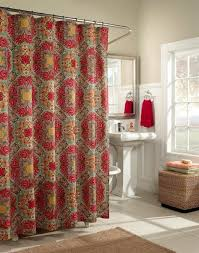 Green And Brown Shower Curtains Kashmir Shower Curtain Fashion Colors Moroccan Influenced