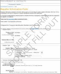 Vendor Information Sheet Template Domestic Vdim Png