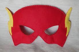 superhero flash mask felt superhero mask flash mask for