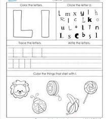 alphabet worksheets letter worksheets for kindergarten