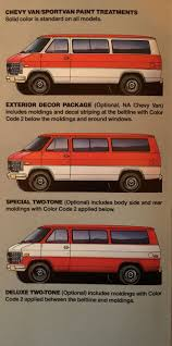 37 best chevy van brochure manual prospekt images on pinterest
