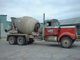 kenworth concrete truck raffin transit mix 1970 red kenworth concrete truck