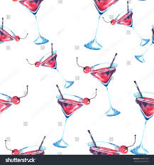 martini clipart no background seamless watercolor background drinks cocktail alcohol stock
