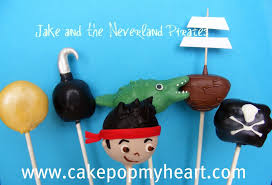disney jake neverland pirates cake pops disney