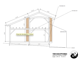 a frame house plans free small timber frame house plans and workshop timber frame house