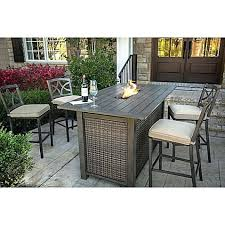 Bar Height Patio Table And Chairs Bar Height Patio Table Or Back Patio Foot Bar Height Table 73