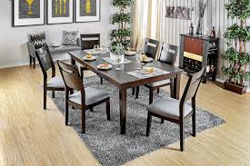 joinville i table cm3985t furniture of america casual dining sets