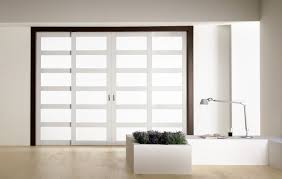 fabric panels for sliding glass doors lush design of sliding interior doors made of glass material with