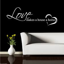 Home Stencil Home Love Family Wall Art Sticker Quote Decal Mural Stencil