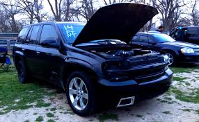 chevrolet trailblazer 2008 2008 black chevrolet trailblazer ss pictures mods upgrades