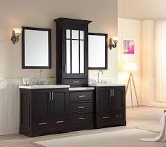 ariel stafford 85 inch transitional bathroom vanity set