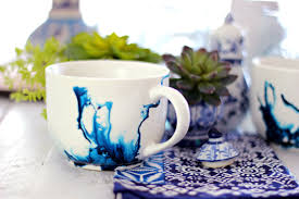 Porcelain Coffee Mugs Watercolor Mugs Using Alcohol Ink And An Exciting Announcement