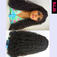 curl in front of hair pic 10000 unprocessed brazilian virgin hair curly lace front wig