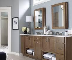 shaker bathroom cabinets kemper cabinetry
