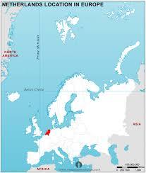 netherland map europe netherlands country profile free maps of netherlands open